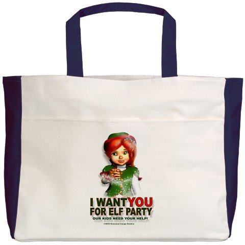 ELF PARTY BEACH BAG